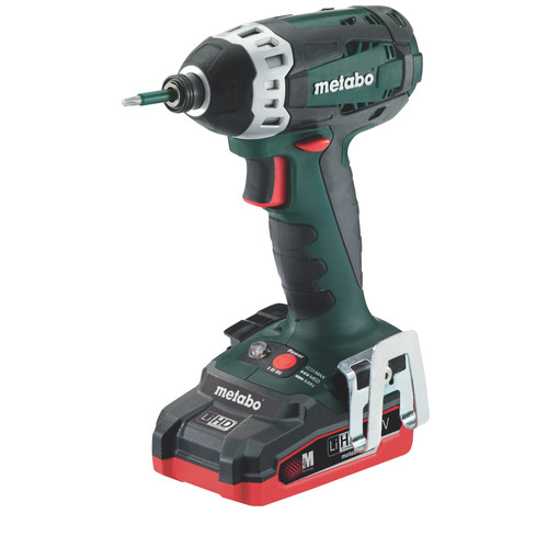 Metabo SSD18 LTX 200 18V 3.1 Ah Cordless LiHD 1/4 in. Hex Impact Driver Kit