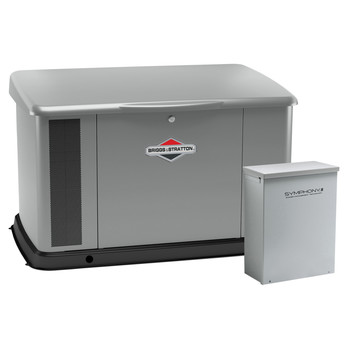 Briggs & Stratton 040645 20kW Generator with Aluminum Enclosure and 100 Amp Symphony II Switch