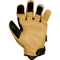 Mechanix Wear CG40-75-010 CG Heavy Duty Gloves - Large, Tan/Black image number 1