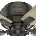 Hunter 52153 42 in. Crestfield Noble Bronze Ceiling Fan with Light image number 8