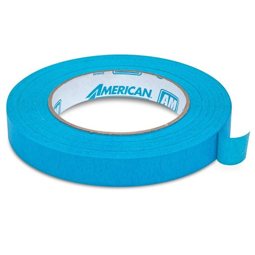 American Tape AM-3/4 3/4 in. Aqua Mask Masking Tape image number 0