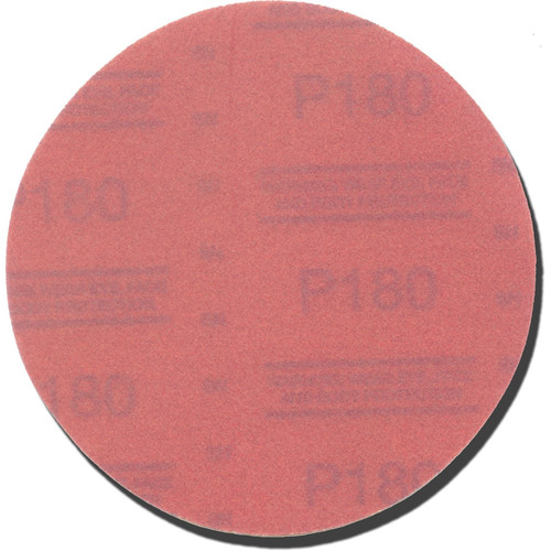 3M 1112 6 in. P180A Red Abrasive Stikit Disc image number 0