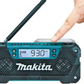 Makita RM02 12V max CXT Cordless Lithium-Ion Compact Job Site Radio (Tool Only) image number 4