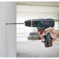 Factory Reconditioned Bosch PS130-2A-RT 12V Max Lithium-Ion Ultra Compact 3/8 in. Cordless Hammer Drill Kit (2 Ah) image number 2