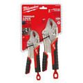 Milwaukee 48-22-3402 Torque Lock Curbed Jaw Locking Pliers Set
