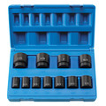 Grey Pneumatic 1311S 11-Piece 1/2 in. Drive 8-Point SAE Impact Socket Set image number 1