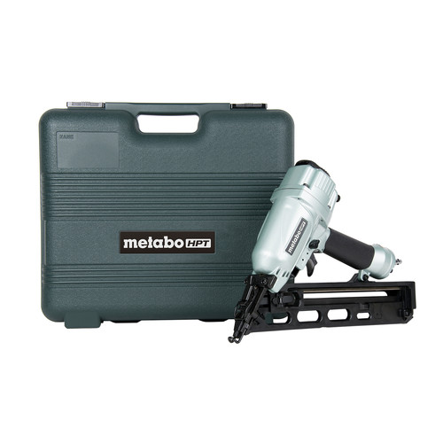 Factory Reconditioned Metabo HPT NT65MA4MR 15-Gauge 2-1/2 in. Angled Finish Nailer Kit image number 0
