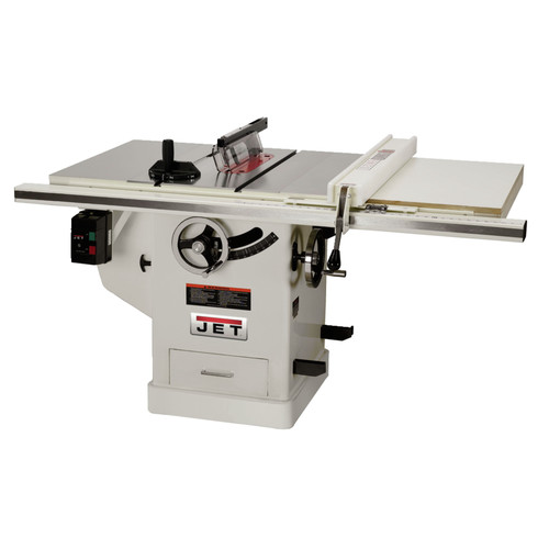 JET JTAS-10XL50-1DX 3 HP 10 in. Single Phase Left Tilt Deluxe XACTA Table Saw with 50 in. XACTAFence II