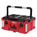 Milwaukee 8425-8431-BNDL PACKOUT Large Tool Box and Low-Profile Organizer Bundle image number 1