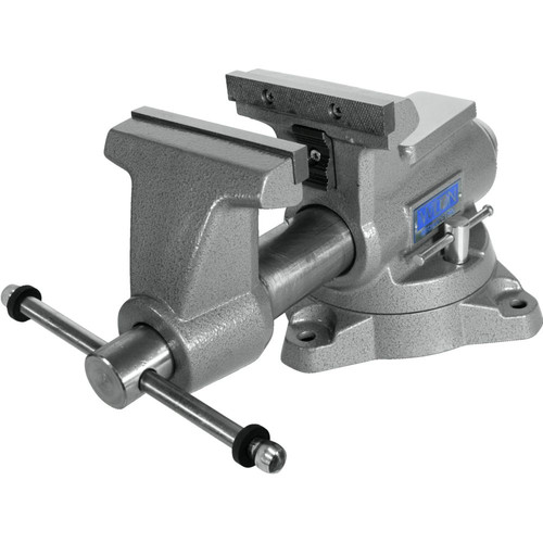 Wilton 28811 855M Mechanics Pro Vise with 5-1/2 in. Jaw Width, 5 in. Jaw Opening and 360-degrees Swivel Base image number 2