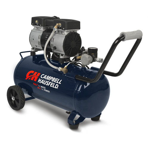 Campbell Hausfeld DC080500 Quiet Series 1 HP 8 Gallon Hot Dog Air Compressor image number 0
