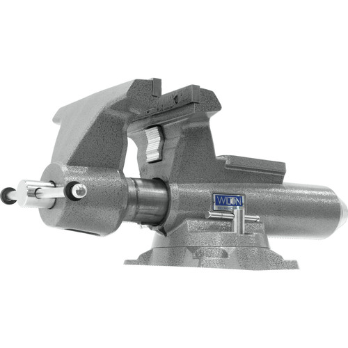 Wilton 28814 8100M Mechanics Pro Vise with 10 in. Jaw Width, 12 in. Jaw Opening, 360-degrees Swivel Base image number 0
