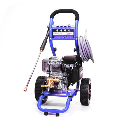 Pressure-Pro PP3225H Dirt Laser 3200 PSI 2.5 GPM Gas-Cold Water Pressure Washer with GC190 Honda Engine image number 0