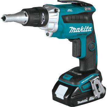 Makita XSF04R 18V LXT 2.0 Ah Lithium-Ion Compact Brushless Cordless 2,500 RPM Drywall Screwdriver Kit image number 1