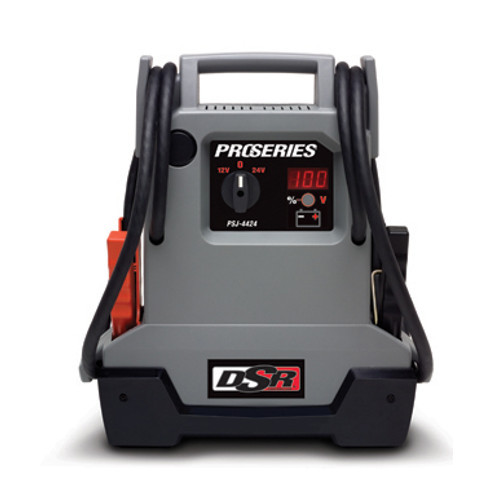Schumacher PSJ-4424 DSR ProSeries 4,400 Peak Amp Portable Jump Starter & Power Unit