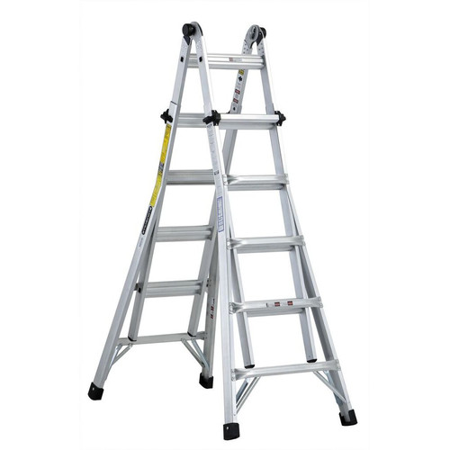 Louisville L-2098-22 22 ft. Type IA Duty Rating 300 lbs. Aluminum Multi-Purpose Ladder