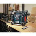 Bosch PB360C 18V Cordless Lithium-Ion Power Box Jobsite AM/FM Radio/Charger/Digital Media Stereo (Tool Only) image number 14
