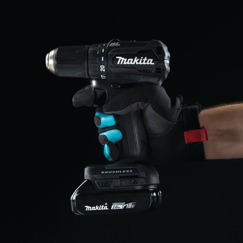 Makita XFD11ZB 18V LXT Lithium-Ion Brushless Sub-Compact 1/2 in. Cordless Drill Driver (Tool Only) image number 3