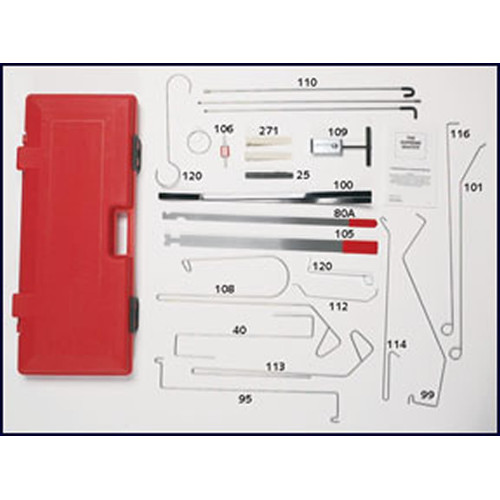 LTI Tools 1000 Grand Master Automotive Lock-Out Tool Kit image number 0