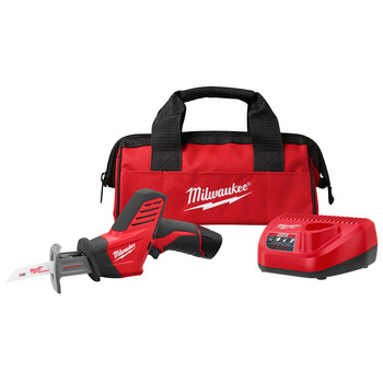 Milwaukee 2420-21 M12 Lithium-Ion HACKZALL Reciprocating Saw Kit with Battery image number 0
