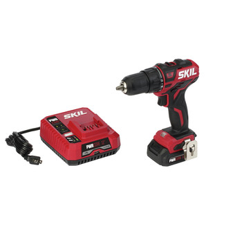 Skil DL529002 12V PWRCore 12 Lithium-Ion Brushless 1/2 in. Cordless Drill Driver Kit (2 Ah)