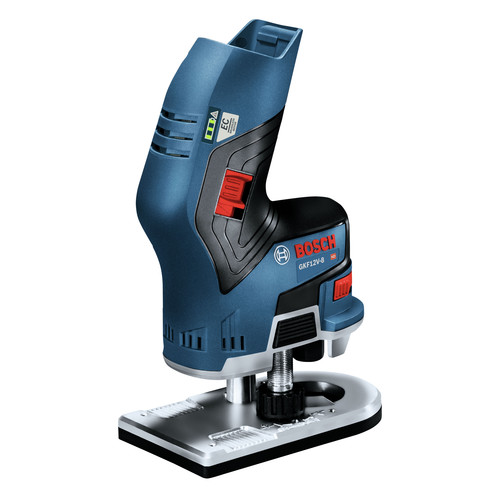 Factory Reconditioned Bosch GKF12V-25N-RT 12V Max Brushless Lithium-Ion 1/4 in. Cordless Palm Edge Router (Tool Only) image number 0