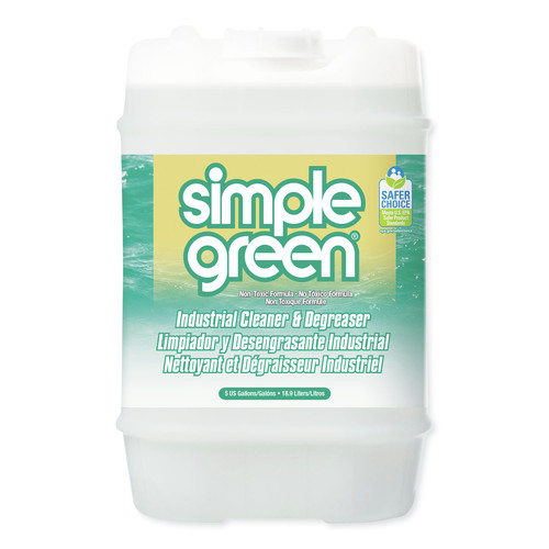 Simple Green 2700000113006 Industrial Cleaner & Degreaser, Concentrated, 5 Gal, Pail image number 0
