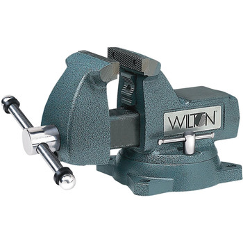 Wilton 744 4 in. Mechanics Vise with Swivel Base