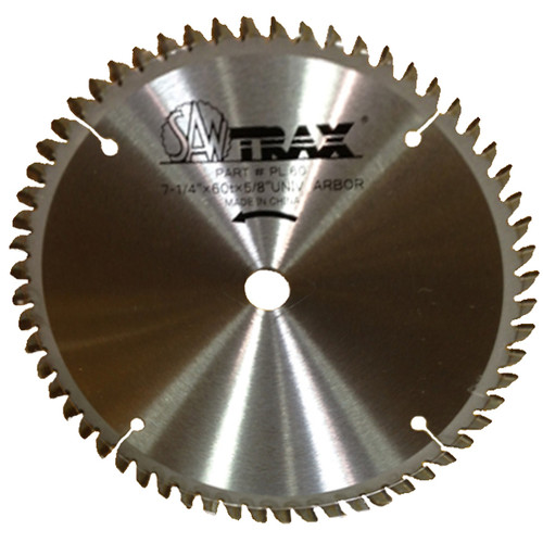 Saw Trax AL-60 7-1/4 in. 60 Tpi Aluminum Circular Panel Saw Blade