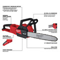 Milwaukee 2727-20 M18 FUEL 16 in. Chainsaw (Tool Only) image number 1