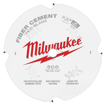 Milwaukee 48-40-7000 7-1/4 in. PCD/Fiber Cement Circular Saw Blade image number 0