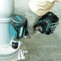 Makita XWT15T 18V LXT 4-Speed Brushless Lithium-Ion 1/2 in. Cordless Impact Wrench with Detent Anvil (5 Ah) image number 5
