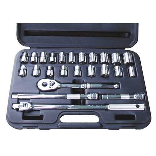 ATD 1360 24-Piece 1/2 Drive Socket Set