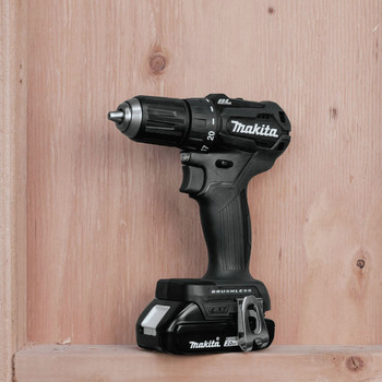 Makita XFD11RB 18V LXT Lithium-Ion Brushless Sub-Compact 1/2 in. Cordless Drill Driver Kit (2 Ah) image number 7