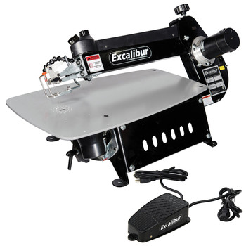 Factory Reconditioned Excalibur EX-21CRB 21 in. Tilting Head Scroll Saw with Foot Switch