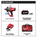 Milwaukee 2867-22 M18 FUEL 1 in. High Torque Impact Wrench Kit with ONE KEY and (2) 8.0 Ah Batteries image number 13