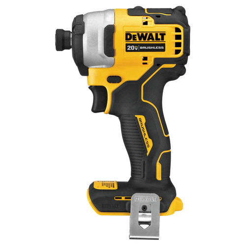 Dewalt DCF809C1 ATOMIC 20V MAX 1/4 in. Brushless Compact Impact Driver Kit image number 1