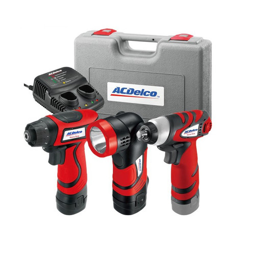 ACDelco ARD847LI Li-ion 8V 3-in-1 Combo Kit image number 0