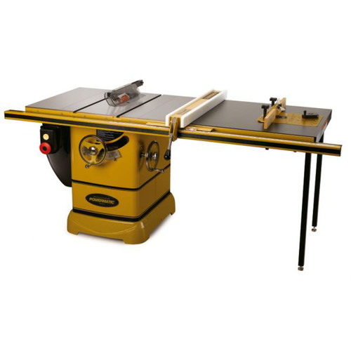 Powermatic PM2000 3 HP 10 in. Single Phase Left Tilt Table Saw with 50 in. Accu-FenceRout-R-Lift and Riving Knife