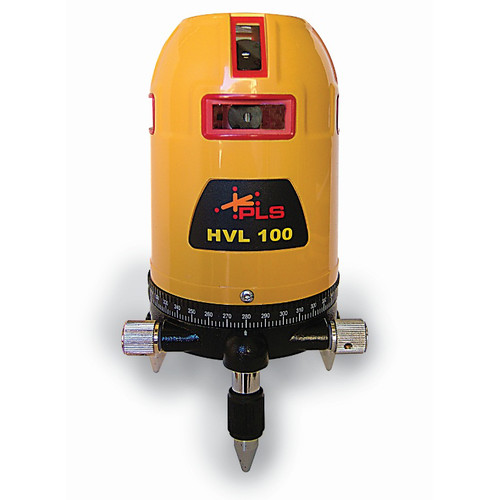 Pacific Laser Systems HVL 100 360-Degree Self-Leveling Laser System with PLS-SLD Detector