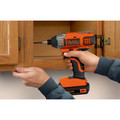 Black & Decker BDCI20C 20V MAX Cordless Lithium-Ion Impact Driver image number 5