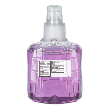 GOJO Industries 1912-02 Antibacterial Plum Foam Hand Wash, 1200ml, Plum Scent, Clear Purple