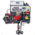 Simpson 95005 Trailer 4000 PSI 4.0 GPM Hot Water Mobile Washing System Powered by HONDA image number 2