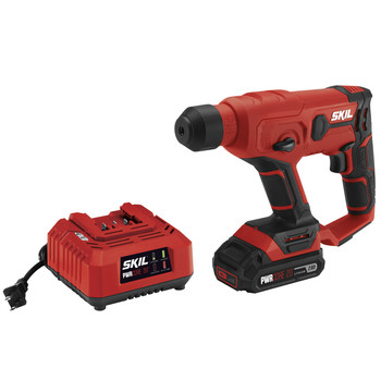 Skil RH170202 PWRCore 20 20V Rotary Hammer Kit with (1) 2 Ah Lithium-Ion Battery and Charger