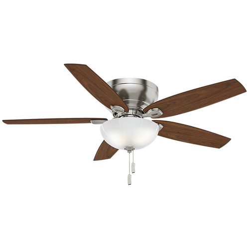 Casablanca 54101 Durant 54 in. Transitional Brushed Nickel Walnut Indoor Ceiling Fan image number 0