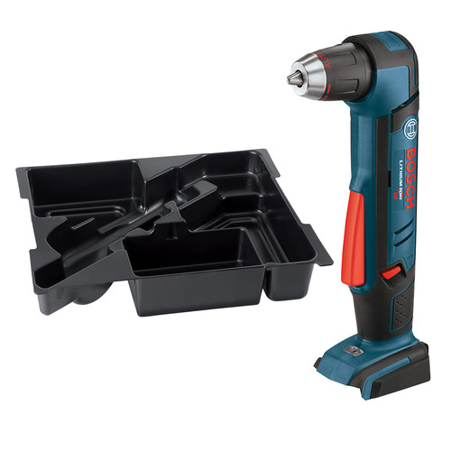 Factory Reconditioned Bosch ADS181BN-RT 18V Cordless Lithium-Ion 1/2 in. Right Angle Drill and Exact-Fit Tool Insert Tray (Bare Tool)