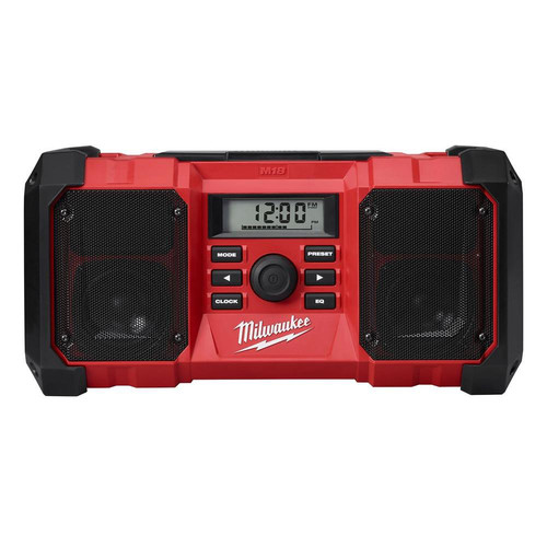 Factory Reconditioned Milwaukee 2890-80 M18 18V Heavy-Duty Jobsite Radio (Bare Tool)