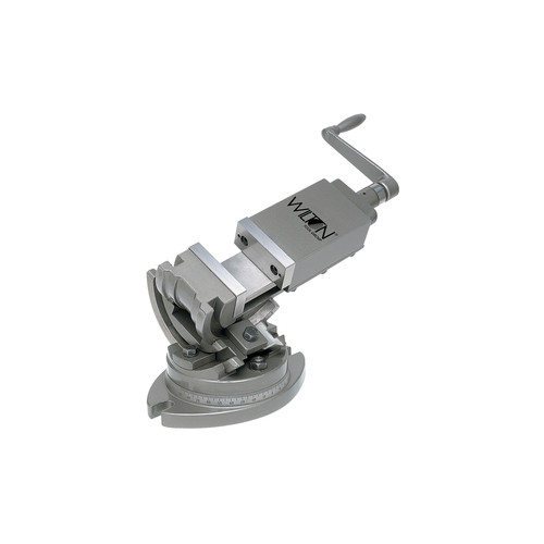 Wilton 11803 3 Axis Tilting Vise, 5 in. Jaw Width, 5 in. Jaw Opening, 1-3/4 in. Jaw Depth image number 0