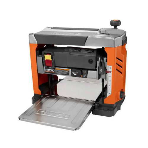 Factory Reconditioned Ridgid ZRR4331 15 Amp 13 in. Bench Planer with 3-Blade Cutterhead