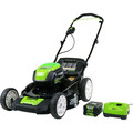 Greenworks GLM801602 Pro 80V Cordless Lithium-Ion 21 in. 3-in-1 Lawn Mower